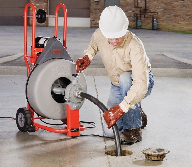 Прочистка канализации - гидродинамическая