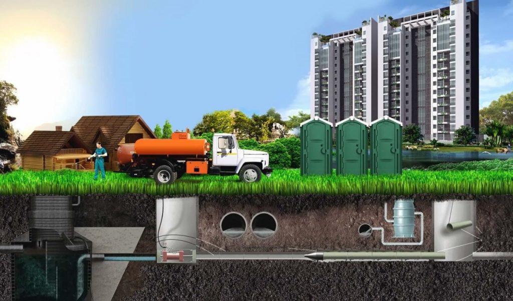 Откачка канализации 3